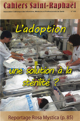 L'Adoption (Cahiers Saint-Raphael n° 135)