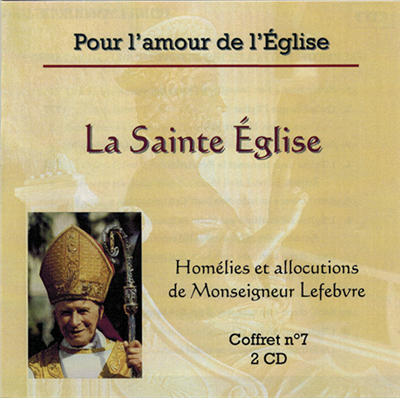 La Sainte Eglise (CD) - Coffret n° 7