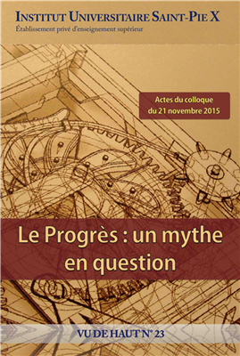 Le progrès, un mythe en question (Vu de haut n° 23)