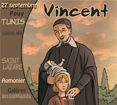 Saint Vincent - Un prénom, un saint (CD)