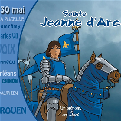 Sainte Jeanne d'Arc - Un prénom, un saint (CD)
