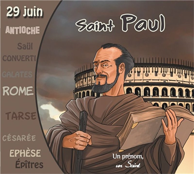 Saint Paul - Un prénom, un saint (CD)