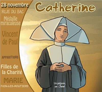 Sainte Catherine - Un prénom, un saint (CD)