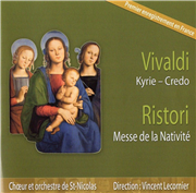 Ristori - Vivaldi : Messe de la Nativité (CD)